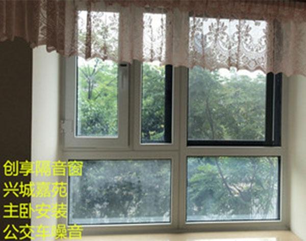 五月第二周四川隔音窗安装案例